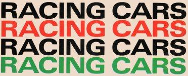 racing-cars-typeset