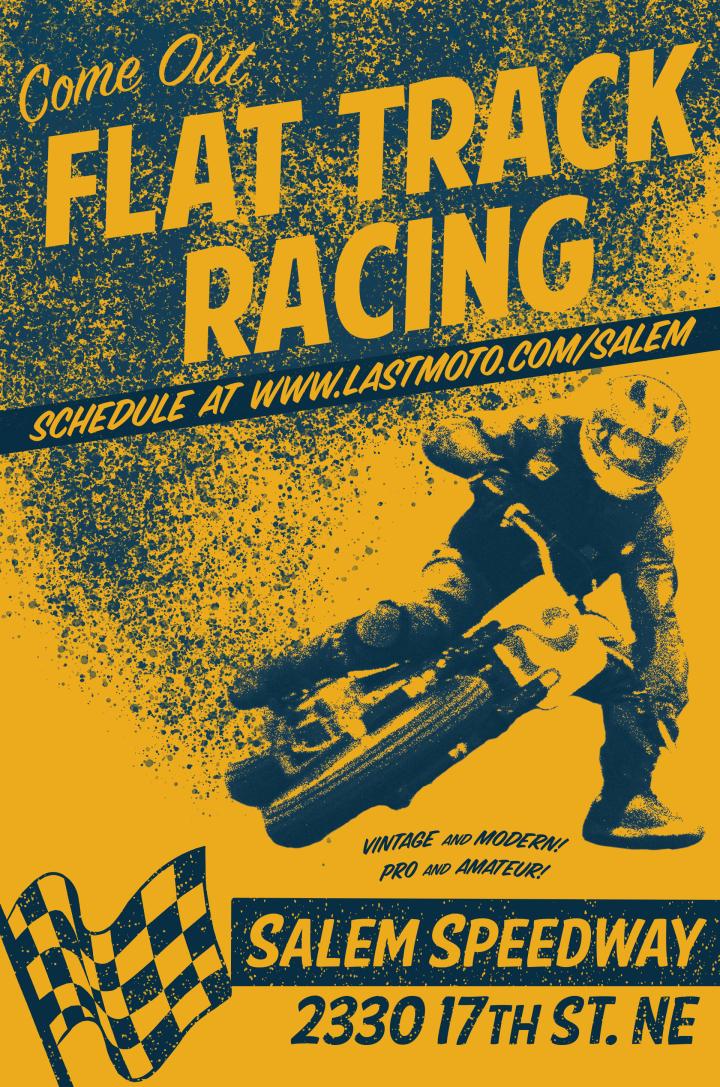 Salem Race Poster
